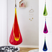 idYllife Hammock Indoor Outdoor for Children Kids Boys Swing Hanging Chair Girls Seat Gift Home Decoration Toy Playing Cushion