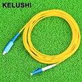 KELUSHI 2016SM Simplex 3 M Fiber Optic Jumper Cable SC-LC SC/UPC-LC/UPC Patch Cord de Fibra Óptica rápida gratis