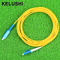 KELUSHI 2016SM Simplex 3M SC-LC Fiber Optic Jumper Cable SC/UPC-LC/UPC Fiber Optic Patch Cord fast shipping