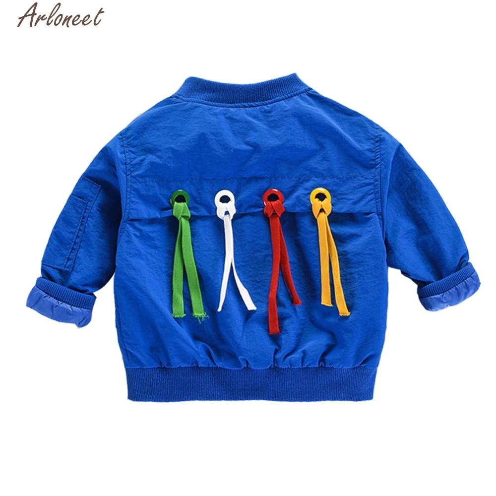 2017 new Autumn Kids Baby Boys Toddler Winter Warm Trench Coat Windbreaker Jacket Outwear Parka doct10