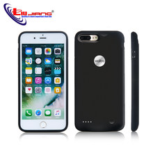 Battery Charger Case For iPhone 7 8 Plus Ultra-thin Power Bank Charging Case Extended Powerbank Cover For iPhone7 2800/3600mah(China)