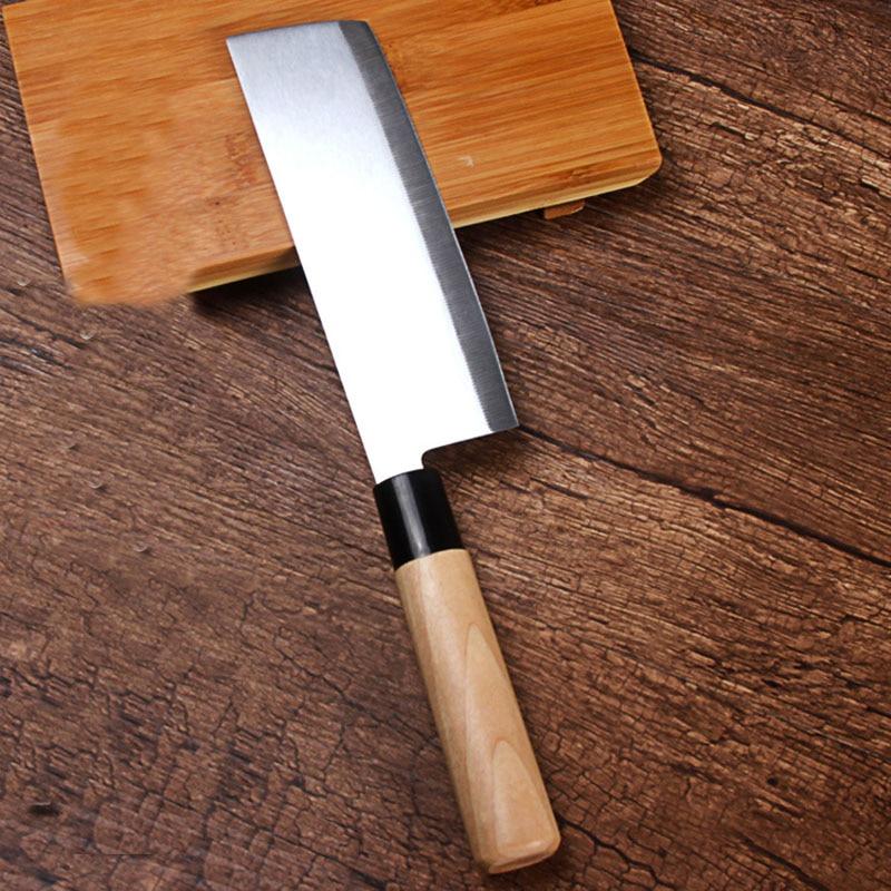 حمل و نقل رایگان فولاد ضد زنگ LDZ آشپزخانه چاقوی آشپز سبک ژاپنی چاقو Santoku برش چاقو گوشت میوه چاقو سبزیجات