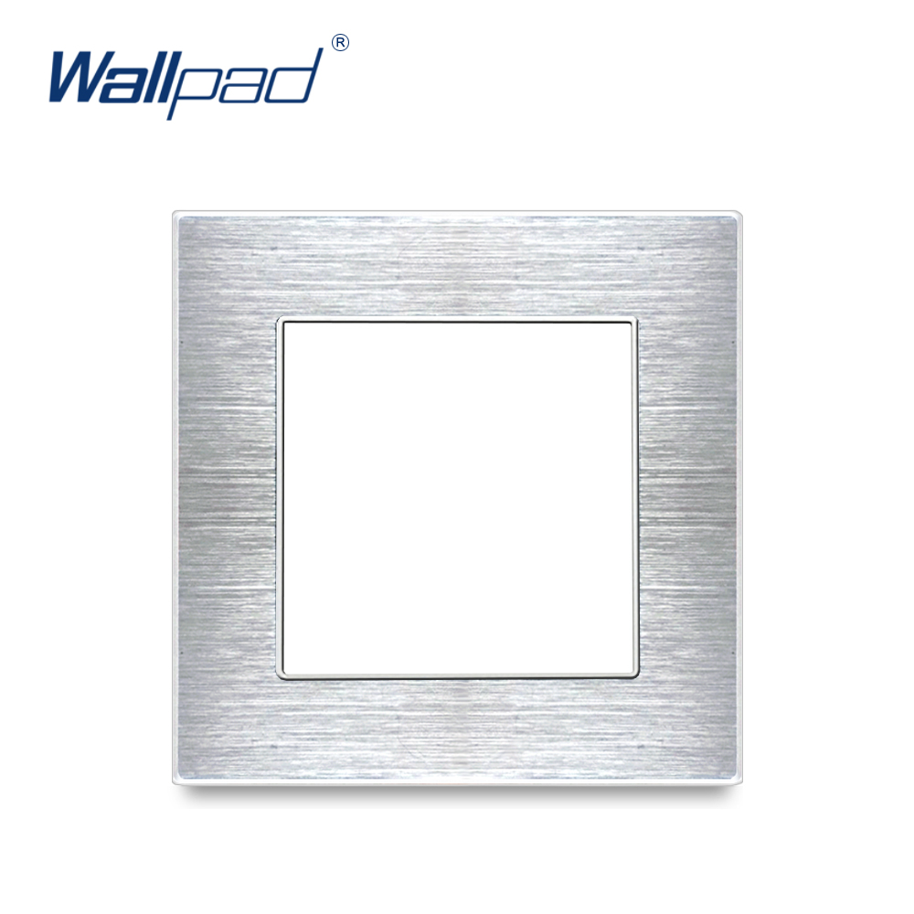 Wallpad Luxury Aluminum Alloy Panel Frame Silver Hotel Panel Vertical and Horizon Frame 1 2 3 4 5 Frames Panel OnlyWallpad Luxury Aluminum Alloy Panel Frame Silver Hotel Panel Vertical and Horizon Frame 1 2 3 4 5 Frames Panel Only