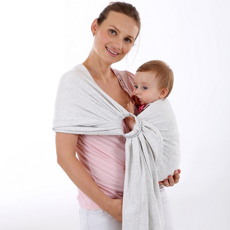 Cotton Front Facing Kangaroo Ring  Baby Baby Carrier  -5057
