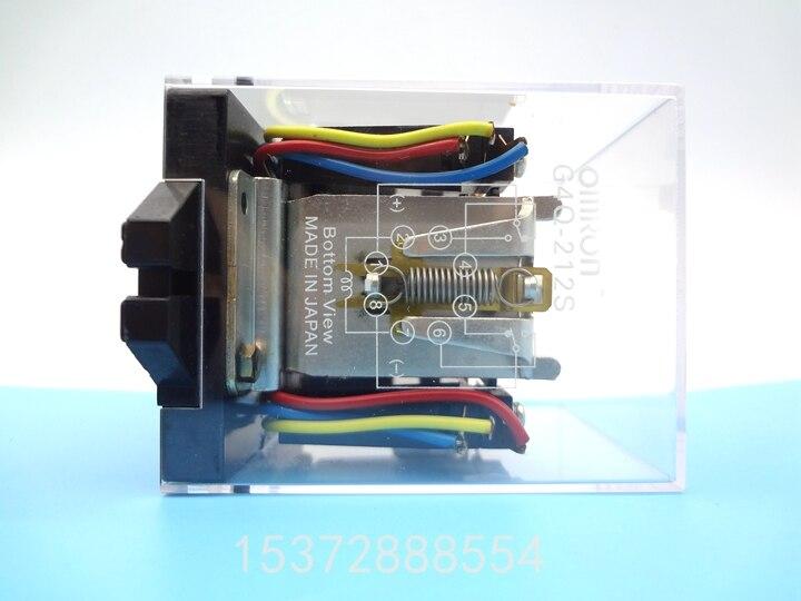цена на 24V Coil Power Relay G4Q-212S DC24V &base