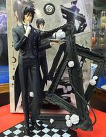 Black Butler Book Of Circus Sebastian Michaelis PVC Action Figure Collectible Model Toy 25cm