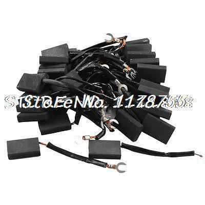 Electric Motor Carbon Brushes 1 9/16 x 31/32 x 3/8 w Leads 80pcs wainer wainer wa 16777 c
