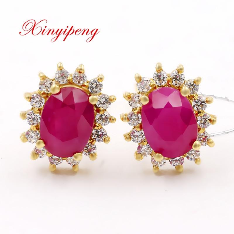 xin-yi-peng-18-fontbk-b-font-fontbyellow-b-font-fontbgold-b-font-inlaid-natural-ruby-stud-earrings-w