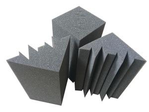 Image 3 - 16 PCS Bass Trap Acoustic Panels Absorption Foam Music Treatment For Studio Best price