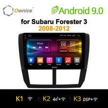 Ownice K1 K2 K2 Octa 8 Core 2 din Android 9.0 Car DVD radio GPS Navi Lettore Radio Per Subaru forester 3 XV WRX 2008 2009-2016