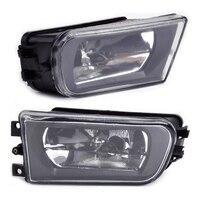 beler New 2pcs 12V Fog Light Lamp 63178360575 63178360576 Fit for BMW E36 Z3 E39 5 Series 528i 1997 1998 1999 2000