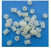 100pcs 3mm LED interval Block 3mm LED of white plastic seat  LED holder Clip F3
