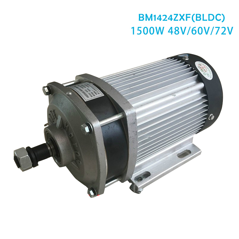 BM1424ZXF <font><b>1500W</b></font> DC 48V <font><b>60V</b></font> Big Power Gear Decelerated Brushless <font><b>Motor</b></font> Tricycle Quad Car Light E-Car Electric Bicycle bldc <font><b>motor</b></font> image
