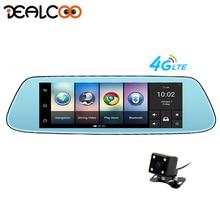 Dealcoo 8″ 4G Special Mirror Car DVR Camera Android 5.1 with GPS DVRs Automobile Video Recorder Rearview Mirror Camera Dash Cam