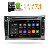 2GB RAM Android 7 1 Car Stereo DVD Player GPS Glonass Navigation For Subaru Legacy Outback