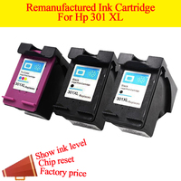 2BK 1Color Compatible For HP301 Ink Cartridge For HP 301 Xl Deskjet 1050 2050 2050s 3050