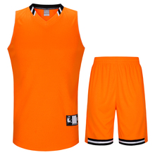 SANHENG Men's Basketball Jersey Competition Uniforms Suits Breathable Sports Clothes Sets Custom Basketball Jerseys Short 912158