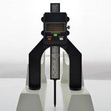 Цифровой измеритель глубины цифровой измеритель глубины протектора ЖК-дисплей Магнитная самостоящая апертура 80 мм ручные роутеры датчик высоты