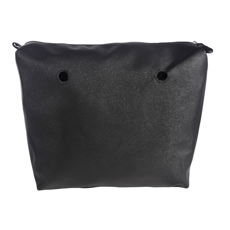New Obag Inner Lining Zipper Pocket for Classic Size Canvas DIY Assembly Insert with Inner Waterproof Coating for O Bag