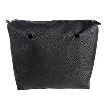 Новый Obag внутренняя подкладка карман на молнии для классического Размеры холст DIY Ассамблеи вставка с внутренним Водонепроницаемый покрытие для вывода сумка