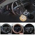 Car-covers Steering-wheel faux fur Steering Wheel Cover Genuine Leather Steering Wheel Cover soft Classical black/gray/Beige