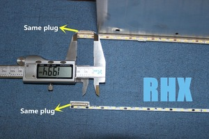 Image 1 - لإصلاح skyworth تلفاز LCD LED الخلفية 50E510E المادة مصباح V500H1 ME1 TLEM9 V500HJ1 ME1 الشاشة 1 قطعة = 68LED 623 مللي متر