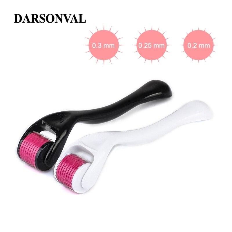 DARSONVAL DRS 540 Derma Roller Micro Needles Titanium Microneedle Mezoroller Machine For Skin Care And Body Treatment(China)