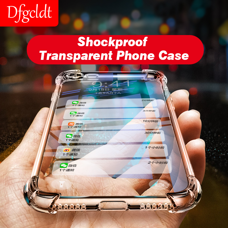 Cellphones & Telecommunications Luxury Shockproof Clear Soft Case For Iphone X 6 7 8 Plus Phone Cases Silicone Back Cover For Iphone 6s Plus 8 7 Plus Tpu Shell By Scientific Process Fitted Cases