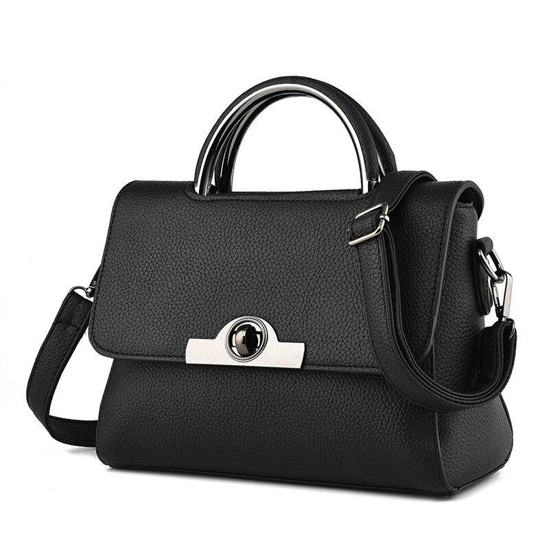 ФОТО Women Leather Handbags Neverfull Summer Messenger Bag For Girls Female Shoulder Bag High Quality 2016 New Bolsos Feminina