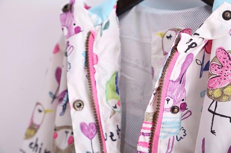 jaquetas casual com capuz outerwear para meninas