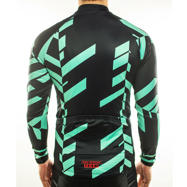 Cycling Jersey Thermal Fleece
