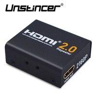 UNSTINCER 4K 3D HDMI 2 0 Antenna Splitter Repeater Signal Amplifier Booster Adapter Extender Up To