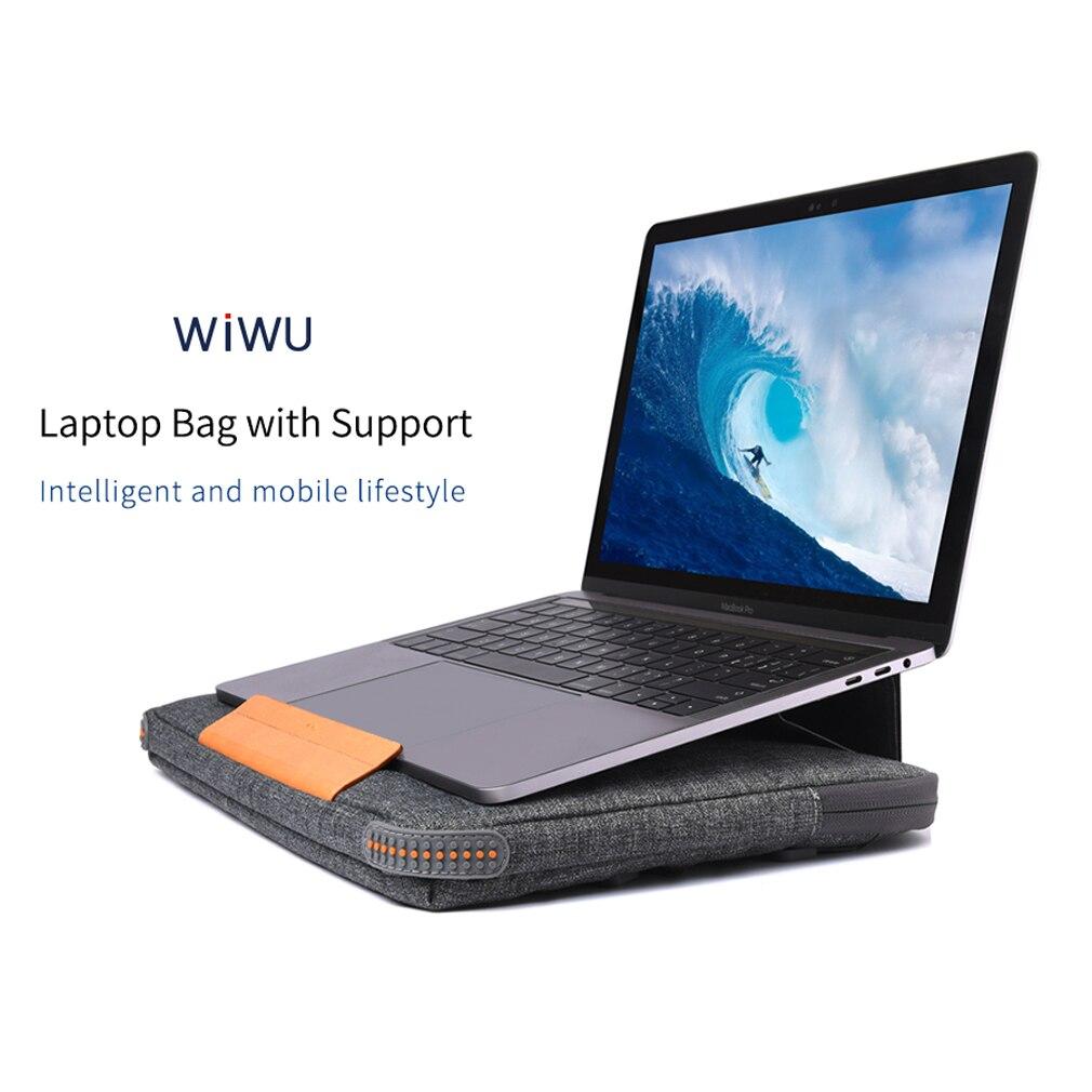 Unisex Solid Waterproof Laptop Computer Bag Breifcase Sleeve Case Bag Dell HP 11/13/15/In