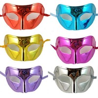 10 Piece Cool Colorful Men's Fashion Show Flat Light CADIN Ball   Party     Mask     Party   Toys Movie Theme Props Supply
