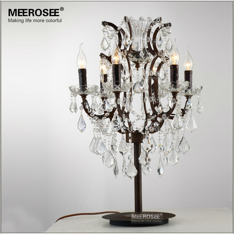 Light Chrismas Picture More Detailed About Wrought Iron. Twig Sphere Table  Lamp Iron Crystal