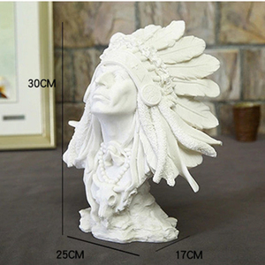 Image 5 - VILEAD 30cm 11.8 사암 인도 여성 인형 빈티지 홈 장식 인도 조각상 홈 오피스를위한 크리스마스 장식