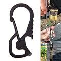 Карабин для ключей  Открытый Карабин из нержавеющей стали  подъемник  шестигранный драйвер  открывалка для бутылок  брелок  кольцо для скало...