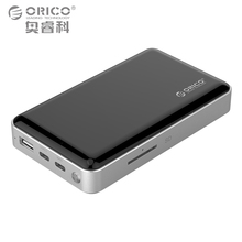 ORICO 2.5 inch Wifi HDD Enclosure Private HDD Cloud Storage Support SD/TF Card Offline Backup 8000 mAh Power Bank USB3.1 Gen1/2