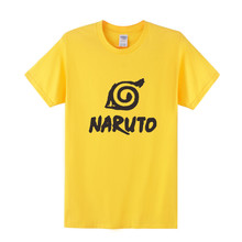Super cool Naruto logo t-shirt in several colors