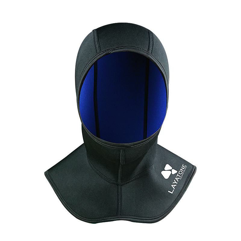 2mm 3mm wetsuit neoperen diving hood hat cressi scubapro mares black blue nike adias sailing surfing snorkeling2