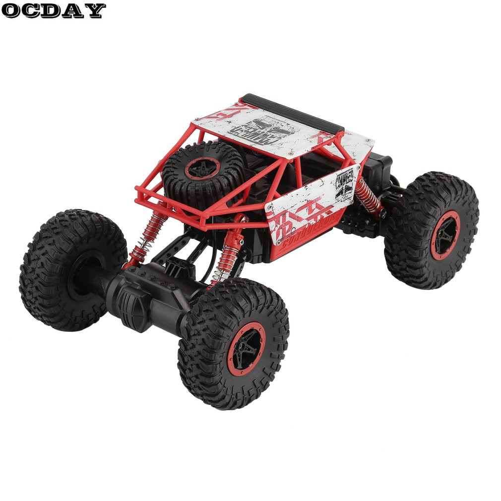 RC Voiture 2.4g 4CH 4WD Rock Robots Conduite Voiture Haute Vitesse Stunt Voiture De Course Télécommande Grimpeur Modèle Off -route Véhicule Jouet De Voiture