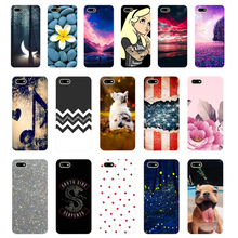 7 Silicone case For Huawei Honor 7A Case 5.45 inch Soft Phone A DUA-L22 Russian Back Cover Coque bumper