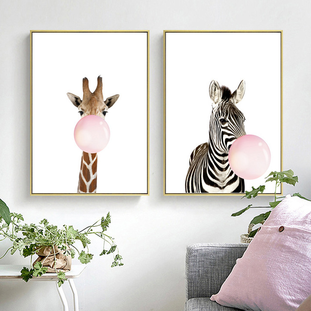 Zebra Animal Prints Wall Art 1