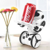 2016 High Quality New KidBe RC Robot Intelligent Balance Wheelbarrow Remote Control Toy Action Figure WATT