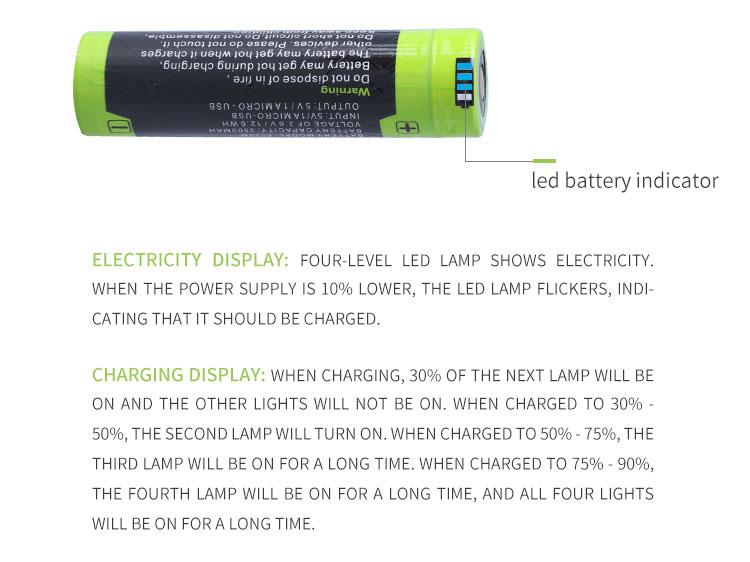 Image 3 - Laptop battery 5000M USB 18650 3.7V 3500mAh Li ion Rechargeable Battery 4 LED Indicator Power bank battery Mobile charging batte-in Laptop Batteries from Computer & Office