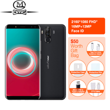 Ulefone Power 3s 6.0″18:9 Full Screen Mobile Phone 6350mAh Octa Core Android 7.1 4GB+64GB 16MP 4 Cams Face ID 4G Smartphone