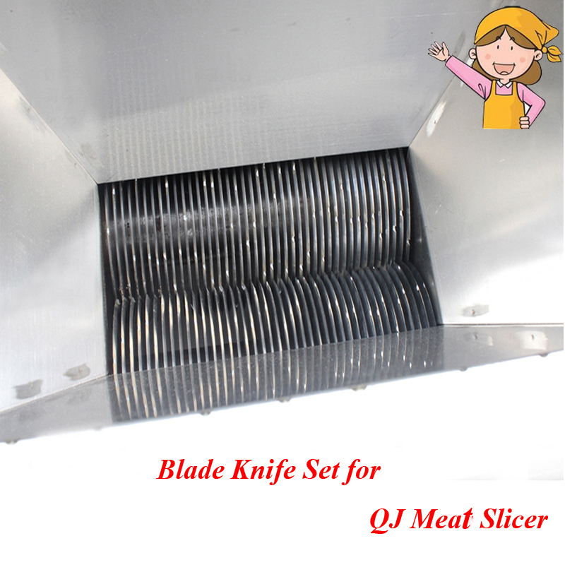 Popular Meat Cutter Blade Knife for Food Processor 2-35mm Blade Knife Cutting Machine QJ blade for meat cutting machine food processors with blade knife for commercial or home use qw