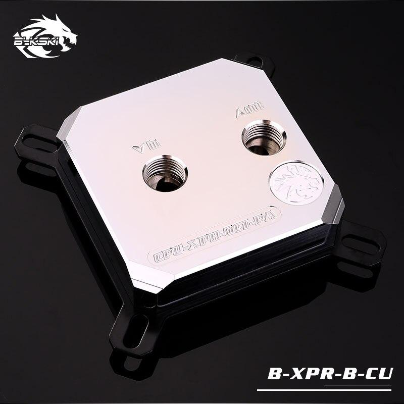 Bykski CPU-XPR-B-CU 2018 new arrival metal CPU water block cooling cpu cooler for intel LGA 1366/1150/1151/1155/1156/2011/2066 цена 2017