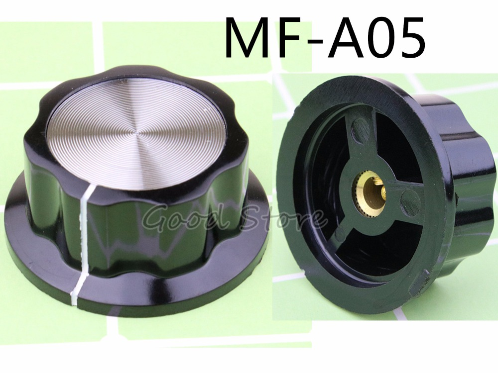 2PCS/lot Hat MF-A05 Potentiometer Knob WH118 WX050 Bakelite Knob Copper Core Inner Hole 6mm