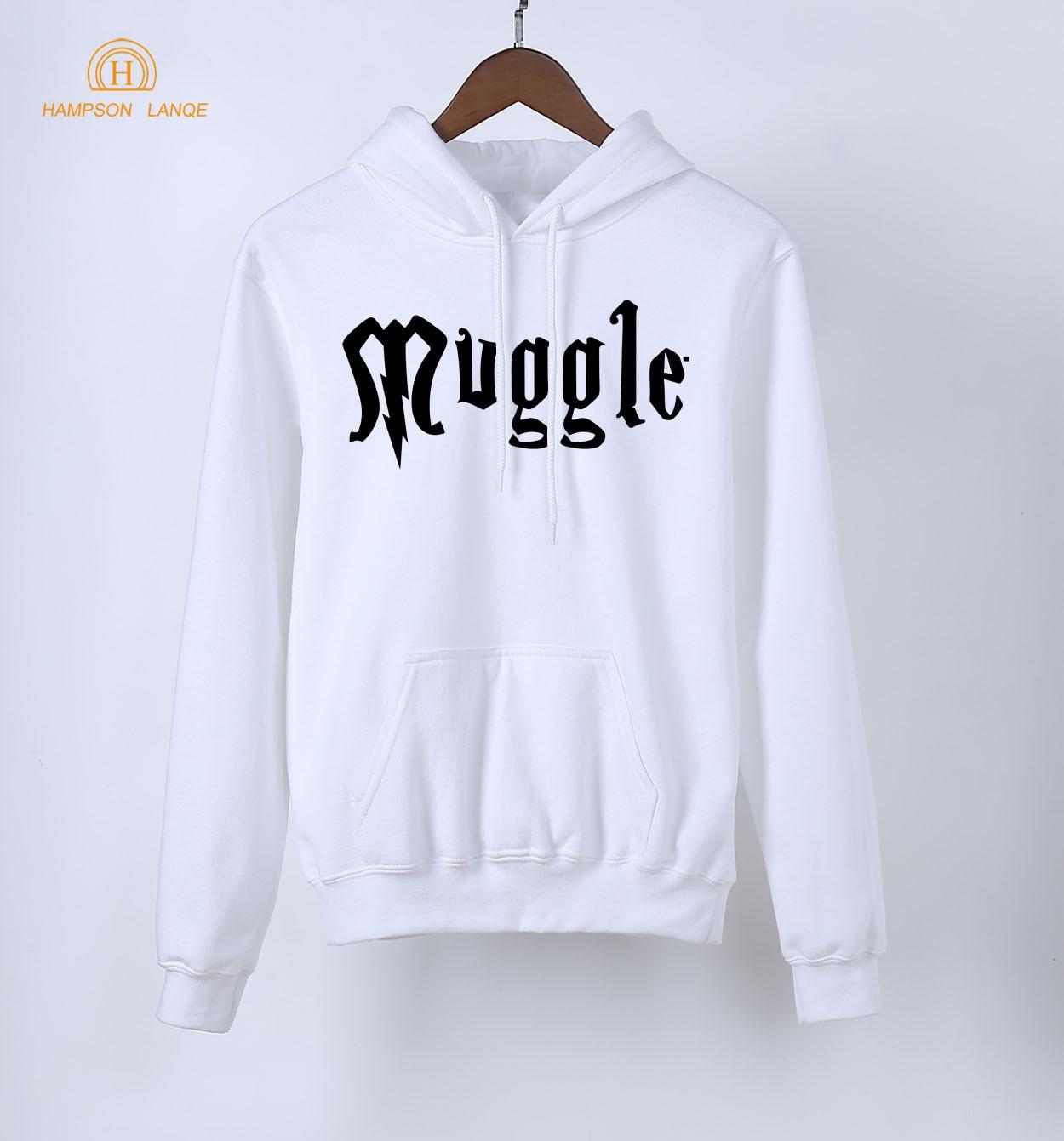 Hogwarts Muggle Women's Hoodies 2019 Hot Sale Adult Spring Autumn Kawaii Sweatshirts Women K-pop Hoodie Fleece Casual Pullovers